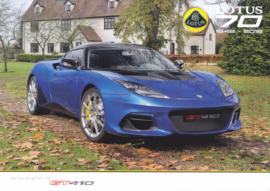 Evora GT 410  brochure, 4 pages, DIN A4-size, factory-issued, French language, 2018