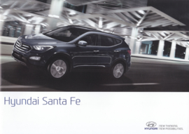 Santa Fe brochure, 16 pages, 01/2015, Dutch language