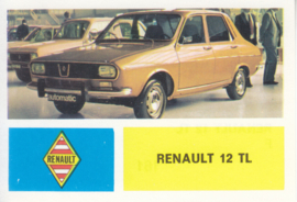 Renault 12 TL, 4 languages, # 161