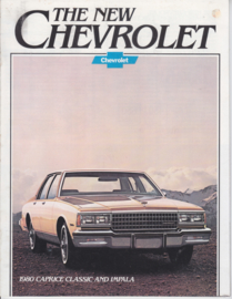 Caprice Classic & Impala, 16 pages, 08/1979, English language, USA