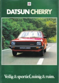 Cherry brochure, 20 pages, Dutch language, about 1980