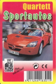 King Sportautos,  32 different cards in plastic cover, German issue