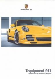 911 Tequipment brochure, 72 pages, 05/2010, German