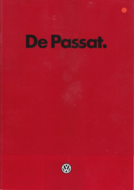 Passat brochure, 32 pages., A4-size, Dutch language, 2/1985