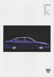 Kappa (K) Sedan brochure, A4-size, 8 pages, 08/1996, Dutch language