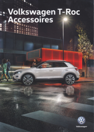T-Roc accessories brochure, A4-size, 4 pages, 2018, Dutch language