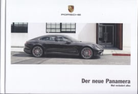 Panamera new model brochure, 164 pages, 11/2016, hard covers, German