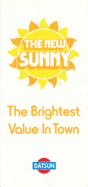 Sunny program folder, 6 pages, UK, English language, 1980