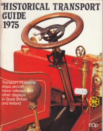 RAC Historical Transport Guide, 64 pages, 1975, English language