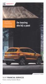 Leasing folder, 6 small pages, 11/2016, Dutch language (Belgium)