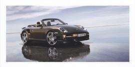 911 Turbo Cabriolet,  foldcard, 2007, WVK 231 000 08