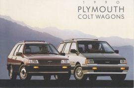 Colt Wagons, US postcard, continental size, 1990