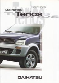 Terios brochure, 20 pages, 09/1997, A4-size, Dutch language