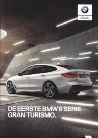 6-Series Gran Turismo brochure, 8 pages, 2-2017, Dutch language