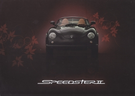 PGO Speedster II brochure, 4 pages, English language