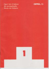 Program Switzerland brochure, 32 pages, 02/1997, German language