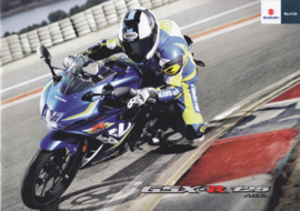 Suzuki GSX-R 125 ABS brochure, 8 pages, #99994-GR125-BRO, 2016, Dutch language