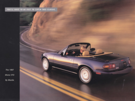 Miata STO Limited Edition Convertible brochure, 2 pages, 1997, USA, English language