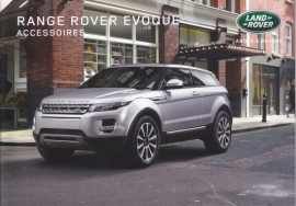 Evoque accessories brochure, 24 A5-size pages, 06/2015, Dutch language