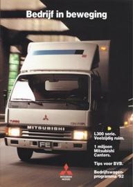 Commercials brochure, 16 pages, 02/1992, Dutch language