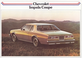 Impala Coupé 1979, 2 pages, export, Dutch language