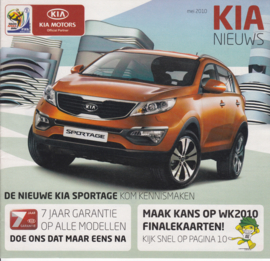 News (program) brochure, 20 pages, 05/2010, Dutch language