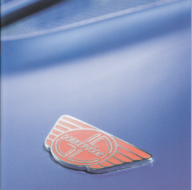 Donkervoort D8 brochure, 16 pages + English specs., about 2010, 4 languages (E/G/F/Sp).