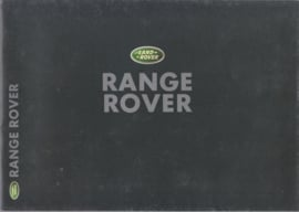 Range Rover brochure, 36 pages, A4-size, 2000, Dutch language
