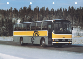 Sisu BT 190 C bus leaflet, 2 pages, A4-size, 03/1983, Finnish language