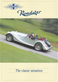 Roadster 3.0 V6 leaflet, 2 pages, DIN A4-size, Dutch language