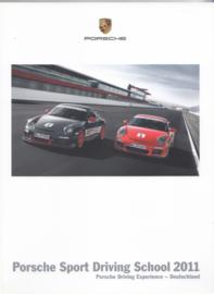 Sport Driving School 2011 brochure, 88 pages, 09/2010, German language