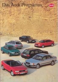 Program 1993 brochure, 36 pages, 08/1992, German language