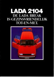 2104 Estate brochure, 10 pages, 12/1987, Dutch language (Belgium)