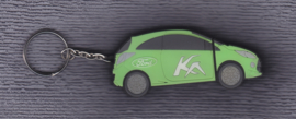 Ford Ka USB-stick with press information and photos, 2008, green color