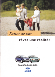 Samara Baltic L/GL brochure, 8 pages, 02/1997, French language (Suisse)