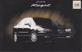 Regal, US postcard, standard size, 1998