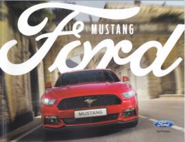 Mustang European brochure, 64 pages, 01/2016, German language