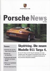 News 03/2006 with 911 Targa 4, 20 pages, 07/06, German language