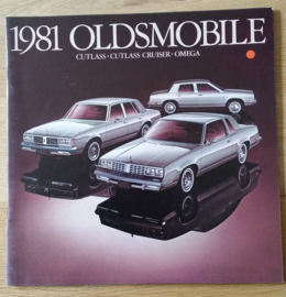 Cutlass/Cutlass Cruiser/Omega 1981, 28 large pages, 08/1980, USA