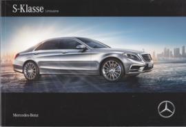 S-Class Limousine brochure, 100 pages, 12/2015, Dutch language