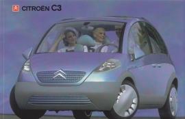 Citroen C3 concept, sticker, 15 x 10 cm