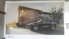 Cayenne Turbo S large original factory poster, published 01/2015