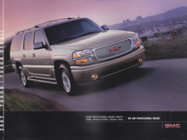 Yukon & Yukon Denali brochure, 40 large pages, 2002, USA, English language
