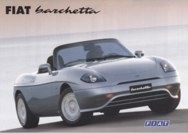 Barchetta Cabriolet leaflet, 2 pages (A4), 03/1996, 3 languages (Suisse)