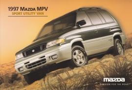 MPV Sport Utility Van, 1997, US postcard, A5-size