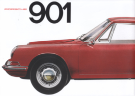 901 Coupe reprinted brochure, 8 pages, factory issue, German language (1993)