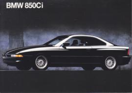850 Ci Coupé, A6-size, English language, 1992, USA