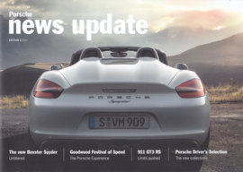 News Update UK with Boxster Spyder, 20 pages,  # 2-2015, English language