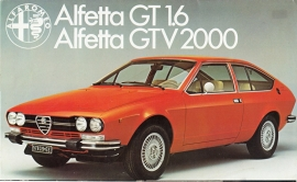 Alfetta GT 1.6/GTV 2000 brochure, 8 pages, 02/1978, # 573, English