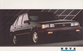Nova,  US postcard, large size, 19 x 11,75 cm, 1988